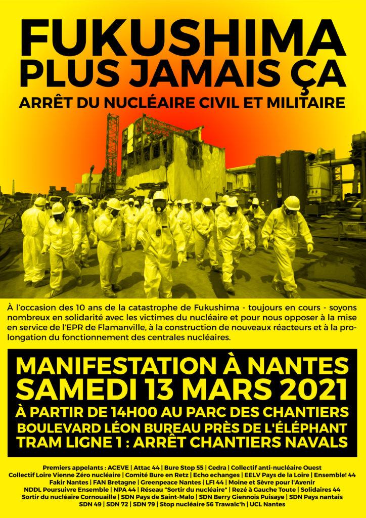 Nantes : Fukushima plus jamais ça !